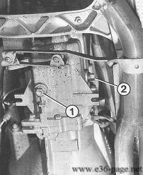 Bmw E36 Wartung Schaltgetriebe ölwechseln